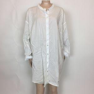 Eileen Fisher Women's tunic 1x Cotton Button